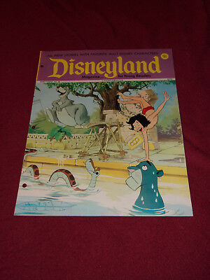Disneyland Magazine #38 Dumbo Uncle Scrooge Jungle Book Snow White Lady & Tramp