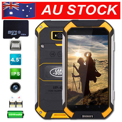 32GB Discovery V19 Unlocked Android Rugged Mobile Smartphone Dual SIM Yellow