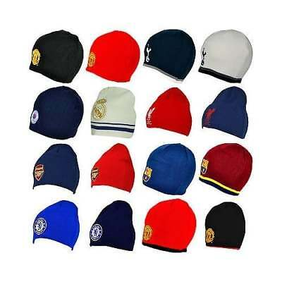 Football Team OFFICIAL Beanie Hats Knitted Woolly Gift - Kids & Adults - NEW