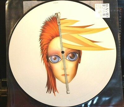 """Rare David Bowie Rebel Never Gets Old 12"""" 33RPM RCA Picture Disc Stunning 4 Trk!"""