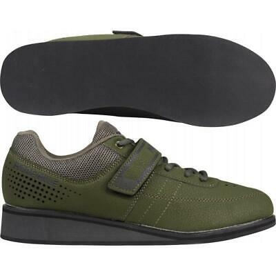 More Mile Super Lift 4 Mens Ladies CrossFit / Weightlifting Shoes - Green