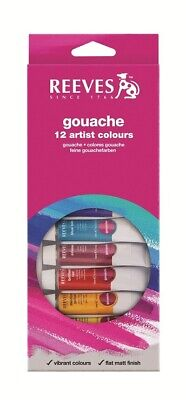 Reeves Paint Set - Gouache 12 x 10ml