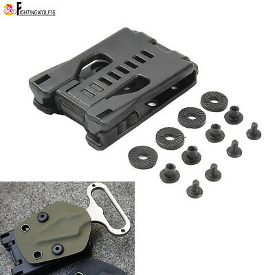 Multifunctional Waist Clip K sheath Kydex Scabbard Clamp For Belt Molle Hook EDC