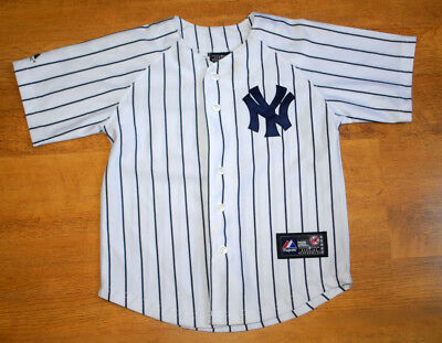 Majestic New York Yankees jersey (Youth size 7)