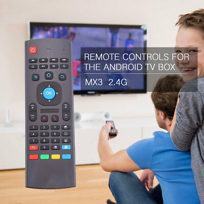 MX3 2.4GHz Wireless Mini Air Mouse Keyboard Remote Control For Android TV Box