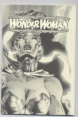 JUST IMAGINE WONDER WOMAN MUSEUM EDITION - signiert von JIM LEE - TOP