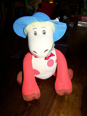 magic roundabout ermentrude talking soft toy