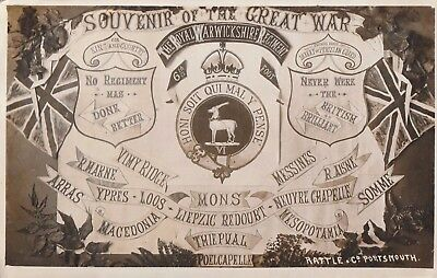 The Royal Warwickshire Regiment, Souvenir of The Great War.