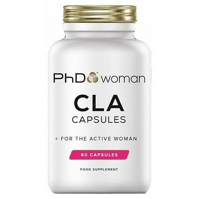 PhD Woman CLA 60 Softgels Weight Management Support Loss Diet Aid Supplement