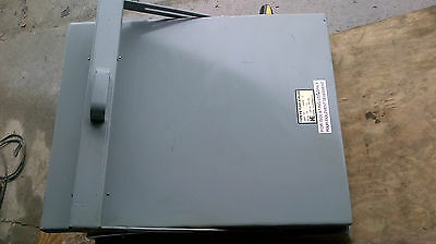 """Hydel """"Taylor"""" FE57340 400 amp 600 volt fusable bus switch new old stock"""