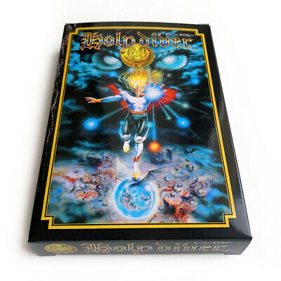 HOLY DIVER - Replacement plastic box custom case for Famicom game IREM Japan