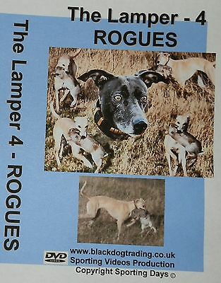 THE LAMPER 4 - ROGUES -  DVD- rabbit,lurchers,coursing,whippet