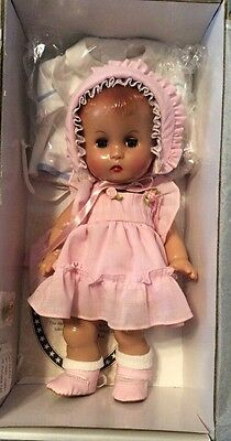 """Darling 12"""" Reproduction Effanbee Composition Doll Candy Kid 1996 New w/COA"""