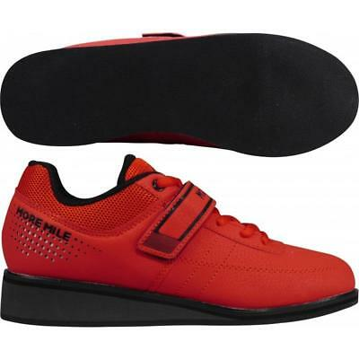 More Mile Super Lift 4 Ladies Womens CrossFit / Weightlifting Shoes - Red