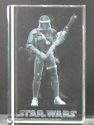 Clarisso Star Wars Rots Clone Trooper 3D Laser Engraved Etched Crystal