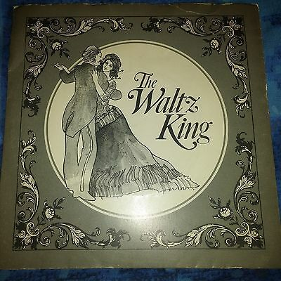 JOHAN STRAUSS II, The Waltz King - ERIC ROGERS, London Festival Orchestra- 7""