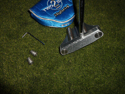 Great Guerin Rife Milled Two Bar Mallet Hybrid Putter A 35 Inch Golf Club Look