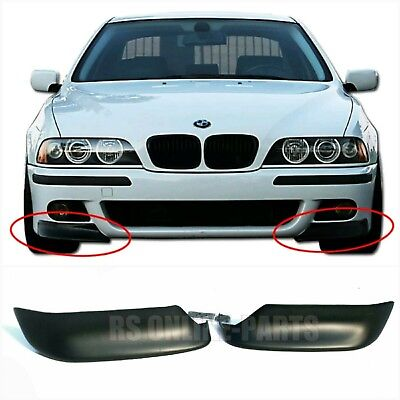 BMW E39 M5 Front Flaps Splitter Ecken Cupwings ABS Plastik for bmw e39 M5 99-03