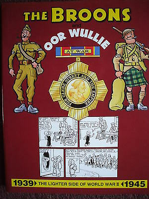 The Broons / Oor Wullie At War 1St Hb Dj  Vgc Lighter Side Of Ww2