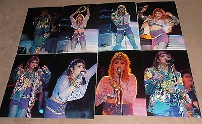 MADONNA  8  original photos 4X6  glossy