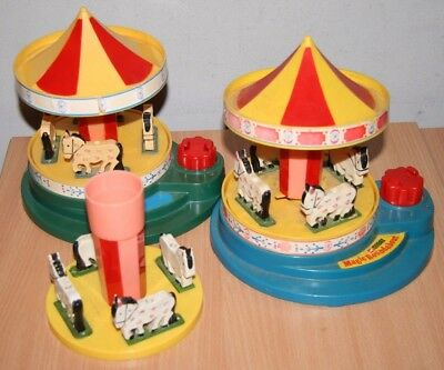 Corgi Magic Roundabout Musical Movement Bundle Broken / Parts Poor Condition