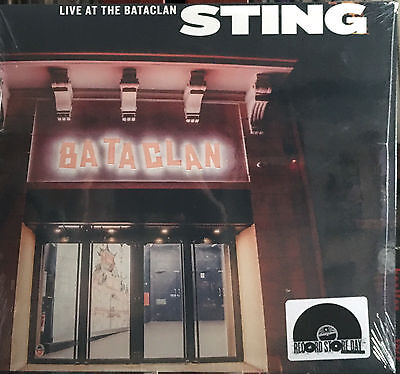 Sting (The Police) - Live At The Bataclan Rsd 2017 Lp New - Limited Edition