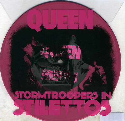 """Queen Stormtroopers In Stilettos Limited Edition Rsd 2011 Pink Vinyl 7""""single"""