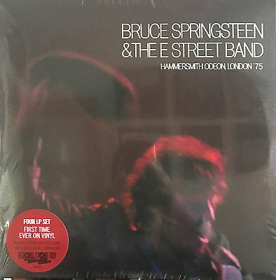Bruce Springsteen &The E Street Band HAMMERSMITH  RSD 2017 -LIMITED NUMBERED NEW