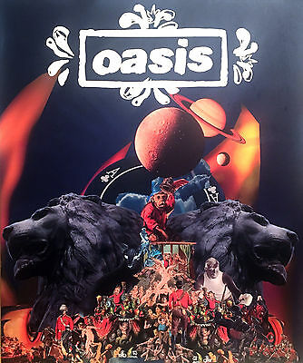 OASIS  - Official Tour Programme DIG OUT YOUR SOUL 2008 - EUROPEAN BOOK VERSION