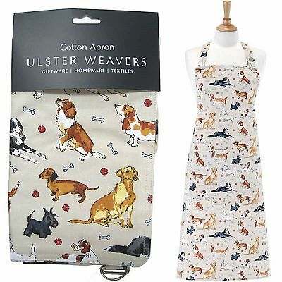 DACHSHUND DOG Cotton Apron ULSTER WEAVERS Basset Hound NEW WITH TAGS