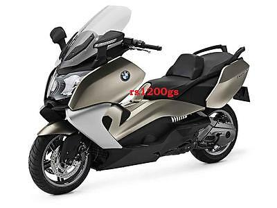 Manual Officina BMW C600 Sport 650 GT Evolution ed. 2014 Workshop Service