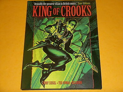 Titan Books: KING OF CROOKS By Jerry Siegel, Ted Cowan & Reg Bunn  THE SPIDER!