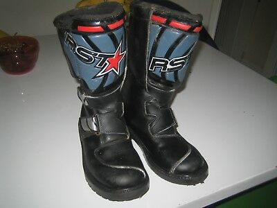 Rst Kids Off Road Motocross Pitbike Quad Amour Boots Off Road Bike  New