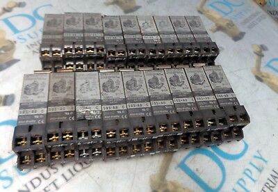 Allen Bradley 595-Ab Ser C 0-5 Auxiliary Contact Lot Of 18