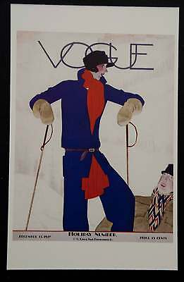 POSTCARDS FROM VOGUE - December 15, 1927 - Cover Postcard - NEW