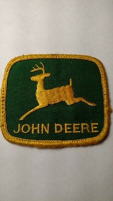 John Deere Patch - Green and Gold - 2.5 x 2.25 inches -