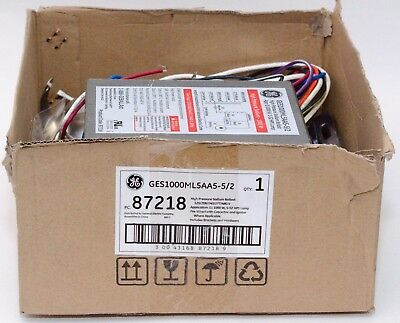 GE 1000W HID Replacement Kit Magnetic Core & Coil Ballast GES1000ML5AA5-5 (87218