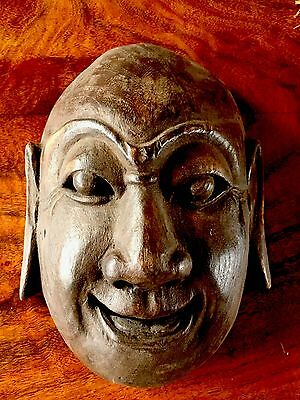 African mask wood Antique