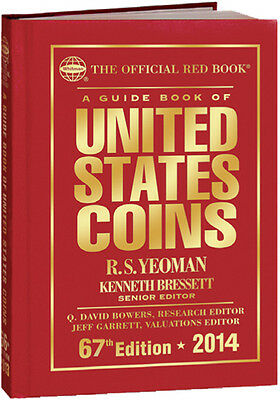 2014 Official Guide Book of U.S. Coins Redbook - Hardcover (50% Off)*