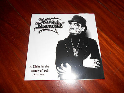 King Diamond – A Night In The House Of God Part One  Vinyl, 7 White Marbled