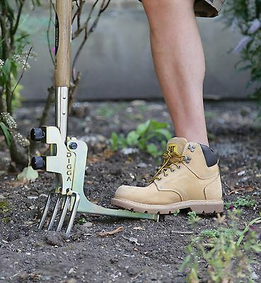 Kikka Digga Easy Digging Attachment for all Garden Forks & Spades, Auto Spade.