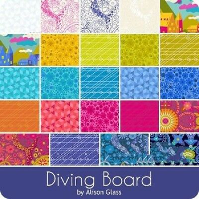 Quilting Fabric Charm Pack - Andover Fabrics - Diving Board X 42