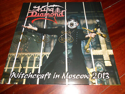 King Diamond ‎– Witchcraft In Moscow 2013  2 × Vinyl, LP, Album , Numbered,