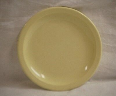 """Old Vintage Dallas Texas Ware 6-3/8"""" Bread & Butter Plate Pastel Yellow MCM USA"""