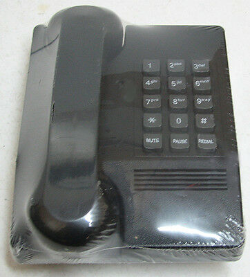 vintage NEW  NOS Sealed  HRS-GLOBAL Touch Tone Phone Black