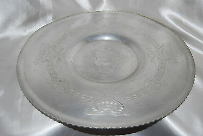 Large Hand Wrought Round Aluminum Serving Tray - Sunflower - Wilson Specialities
