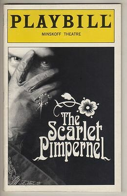 "Rachel York   ""The Scarlet Pimpernel""  1998   Playbill   Douglas Sills  Broadway"