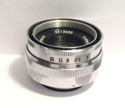 Schneider-Kreuznach  Comparon 1:4/50 Lens  w / covers 9513020   Md. in Germany