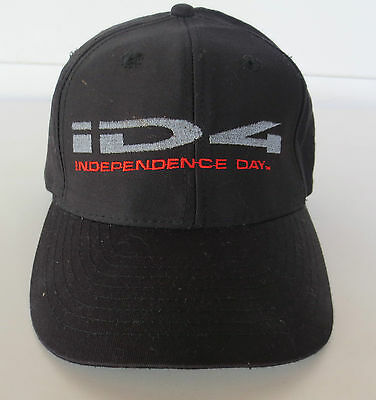 Vintage 90's ID4 Independence Day Movie Promo Baseball Snapback Hat Cap