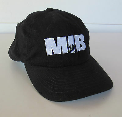 Vintage MEN IN BLACK MIB Movie Promo Baseball Hat Cap